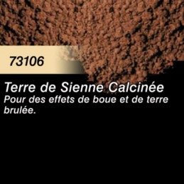Pigment Terre de Sienne Calcinée