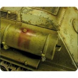 Exemple Effet moteur taches de diesel