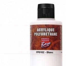 Pot et rendu Acrylique polyurethane Blanc 200ML