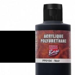 Pot et rendu Acrylique polyurethane Noir 200ML