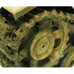 Exemple Effet d'environnement boue et herbe