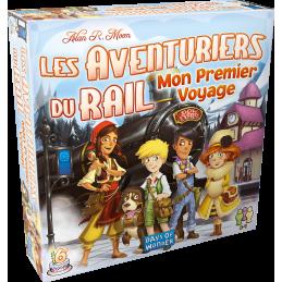 Boite Les Aventuriers du Rail Europe: Mon Premier Voyage