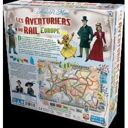 Dos de la boite Les Aventuriers du Rail: Europe