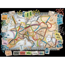 Détail Les Aventuriers du Rail: Europe
