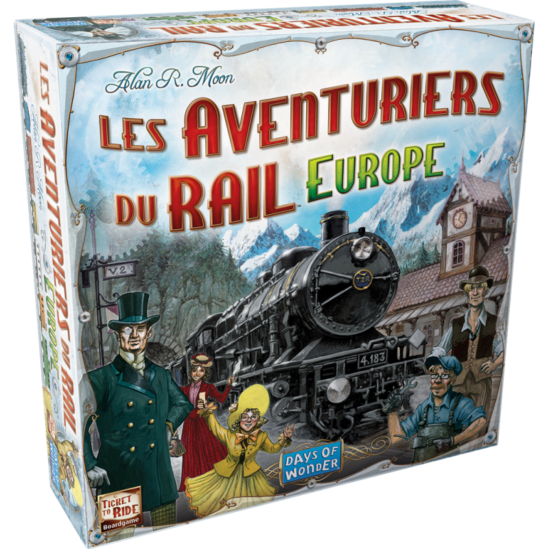 Boite Les Aventuriers du Rail: Europe