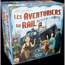 Boite Les Aventuriers du Rail: Autour du Monde