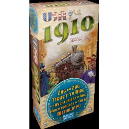 Boite Aventuriers du Rail: 1910