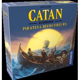 Boite Catan : Pirates et Découvreurs