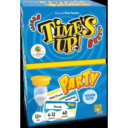 Boite Time's Up Party Bleu