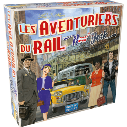 Boite Aventuriers du Rail: New York