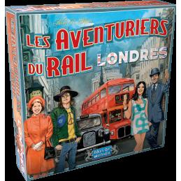 Boite Aventuriers du Rail : Londres