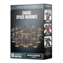Boite START COLLECTING! CHAOS SPACE MARINES
