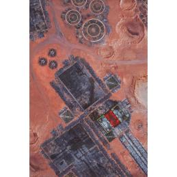 Vue du dessus Tapis: Forges de Mars 6'x4'