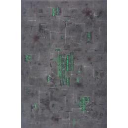 vue de dessus Tapis: Zone chimique 6'x4'