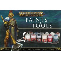 Set de peinture et d'outils...