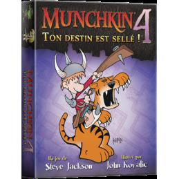 Munchkin 4 : Ton Destin est...