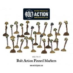 Marqueurs PIN Bolt Action