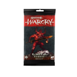 WARCRY: Cartes DAEMONS OF...