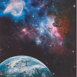Tapis: Galaxy 1 3'X3'