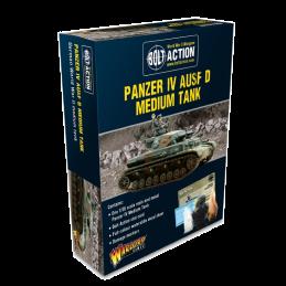 Panzer IV Ausf D Medium Tank