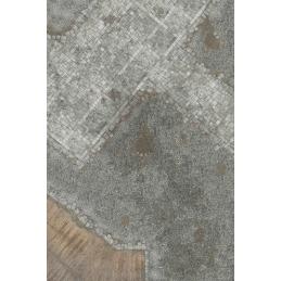 Tapis: Ville médiévale 6'x4'