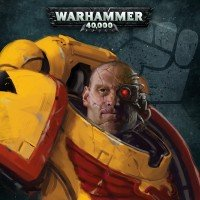 Imperial Fists Space marines mondes-fantastiques