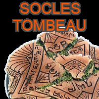 Socles Tombeau