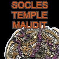 Socles Temple Maudit